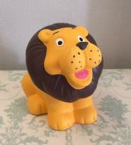 Lion ~ Children's Ceramic Animal Money Bank